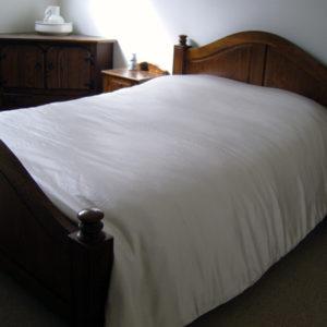 Zijden dekbed geeft een gezondere slaapomgeving